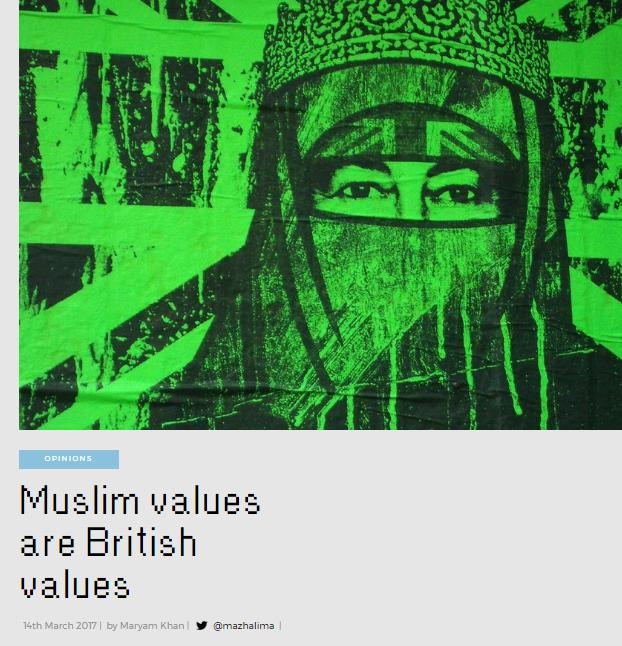 muslim values
