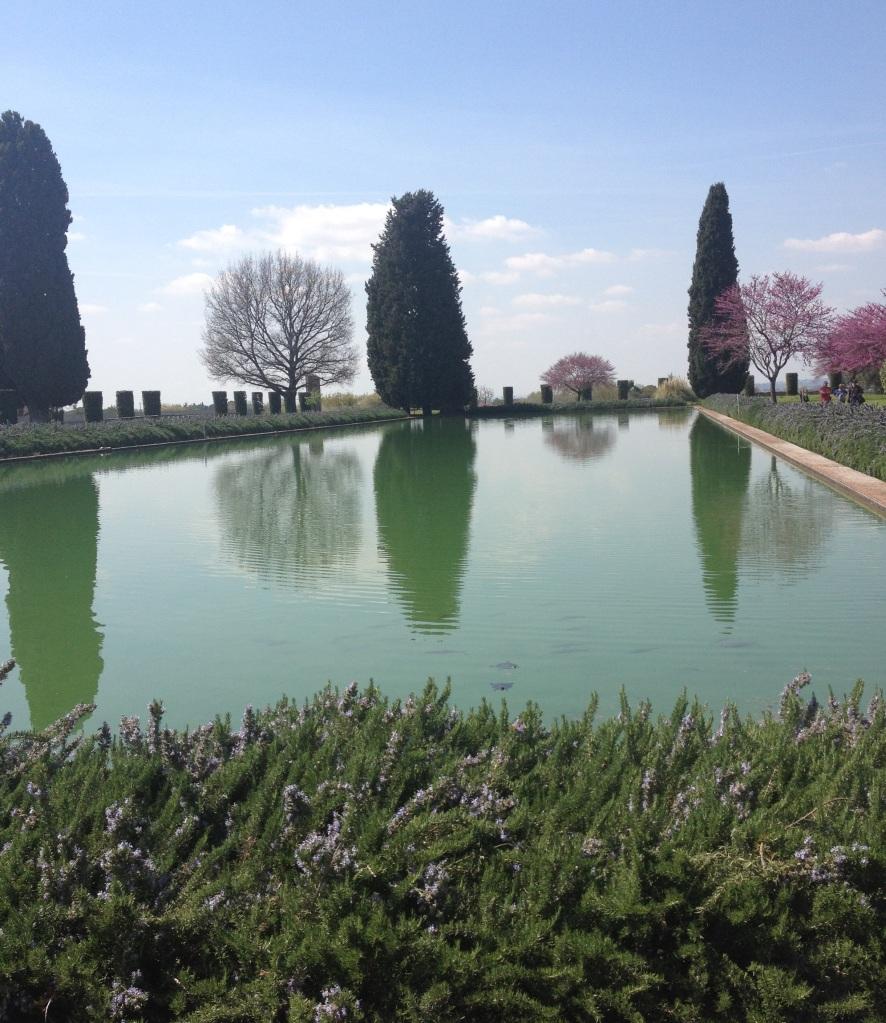 Hadrian's Villa pool