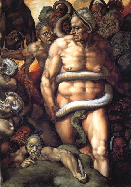 Minos - Michelangelo