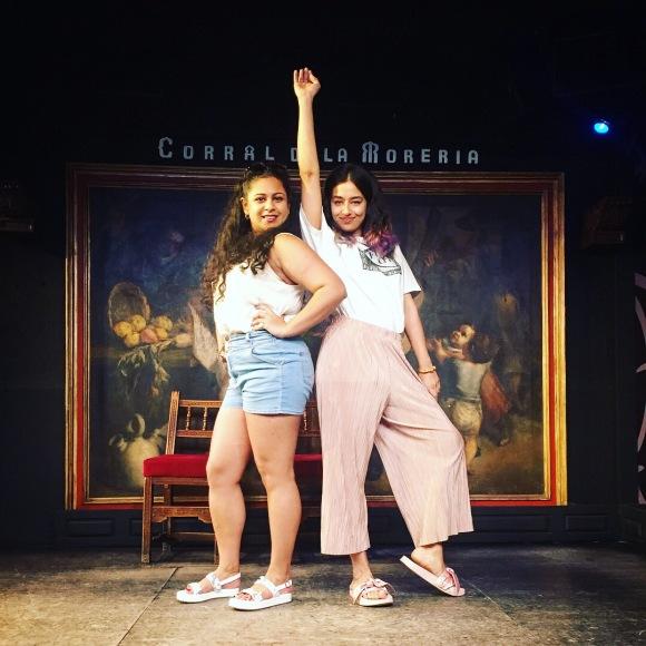 me and c at flamenco