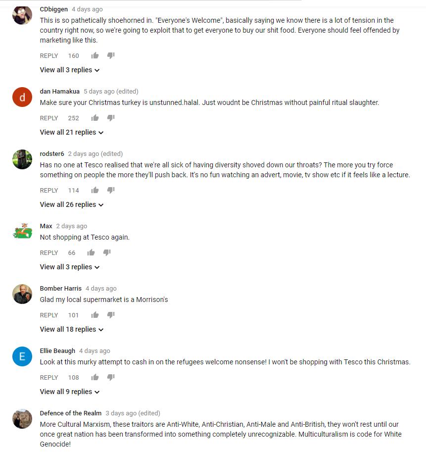 tesco comments
